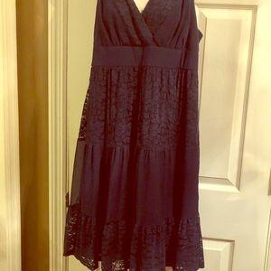 Torrid size 1 lace skater dress